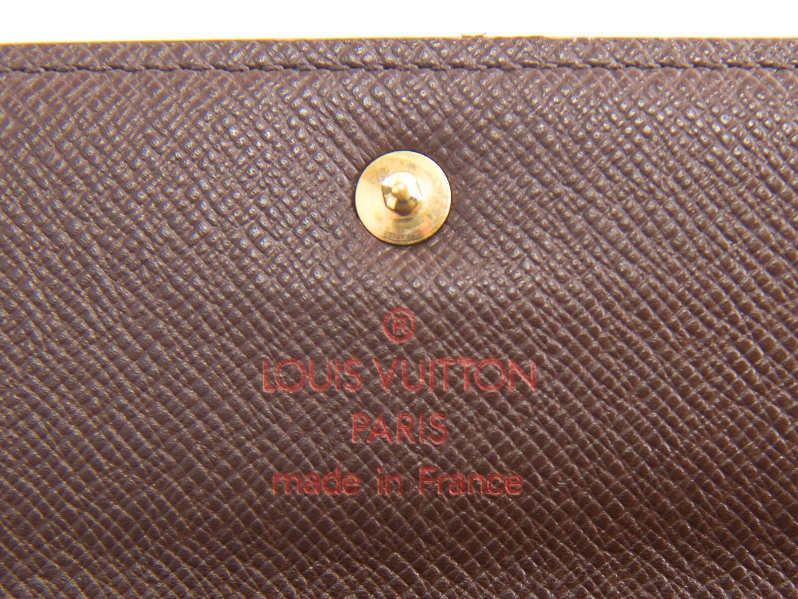 115ebb2d31a3d AUTHENTIC LOUIS VUITTON PORTE-TRESOR ETUI PAPIER WALLET N61202 ...