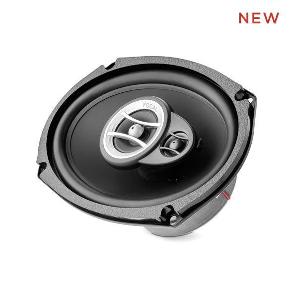 FOCAL PERFORMANCE AUDITOR RCX-690 2-WAY COAXIAL CAR SPEAKERS, ELLIPTIC