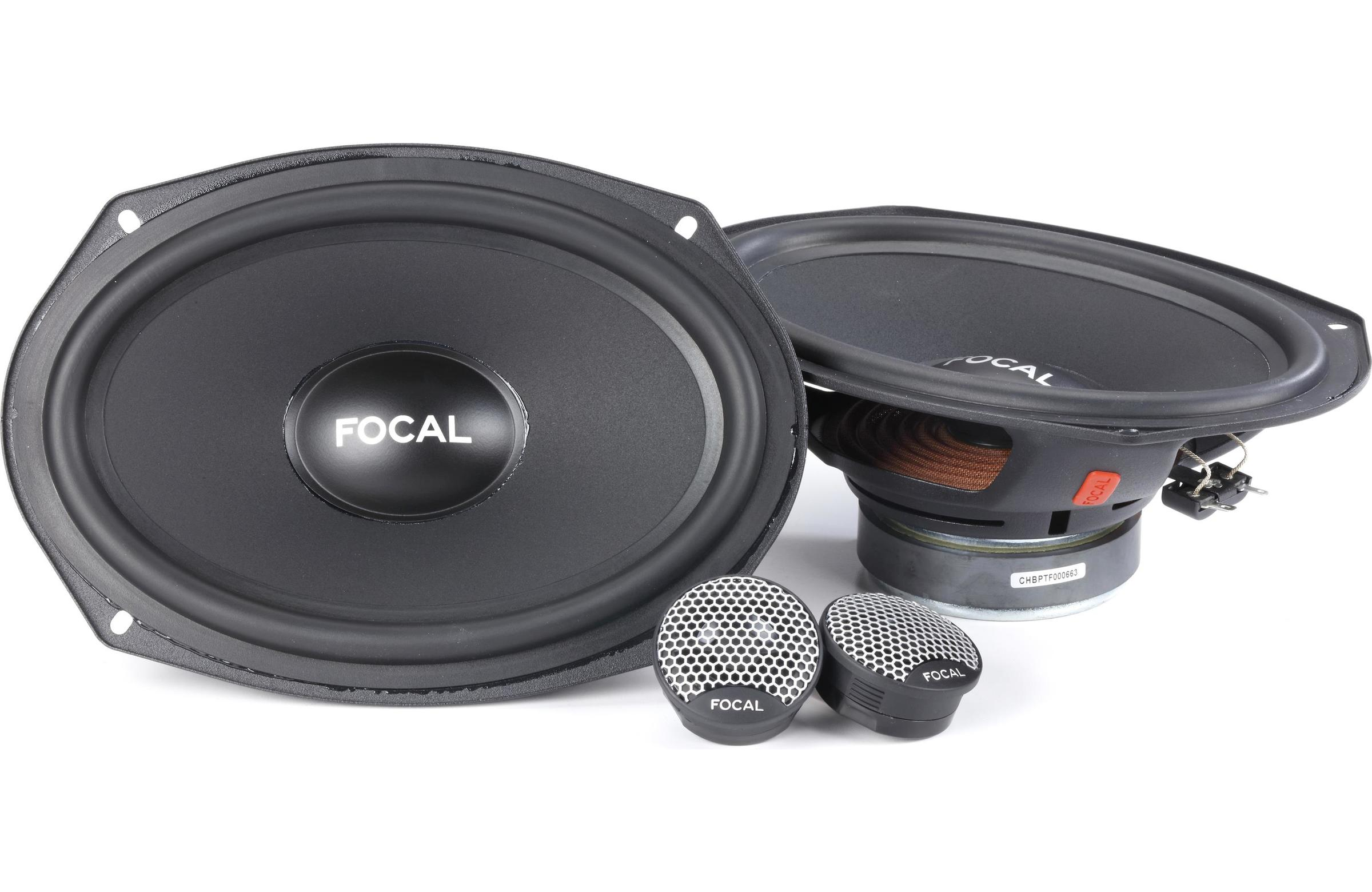 FOCAL INTEGRATION UNIVERSAL ISU 690 2-WAY COMPONENT CAR SPEAKERS