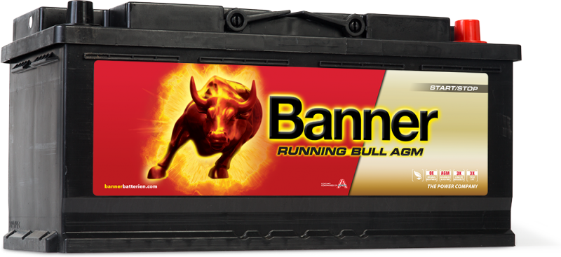 Banner Running Bull AGM 605 01 Car Battery