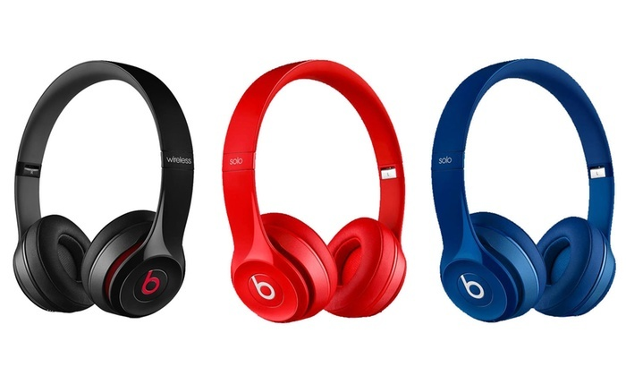Beats Solo 2 On Ear Handphone - Black