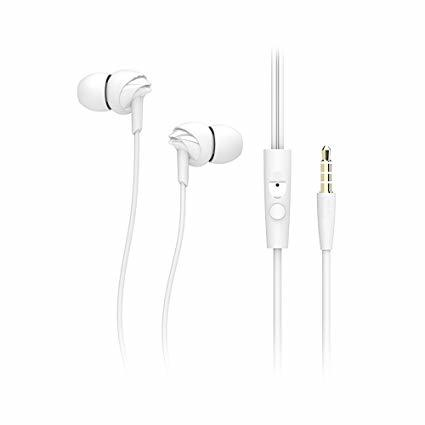ROCK Y1 Wired Stereo Earphone with Mic Headset 3.5mm In Ear Earbuds