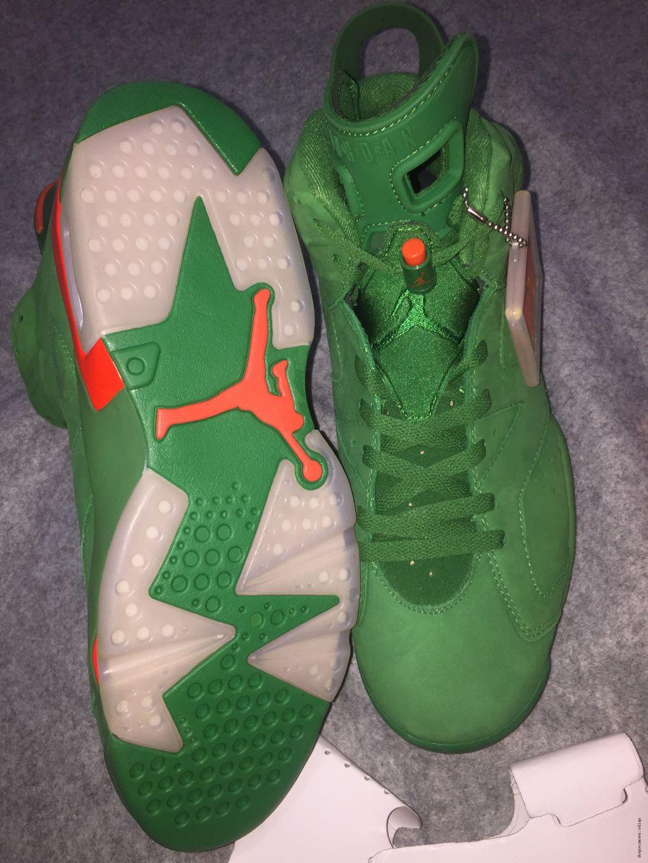 Air Jordan 6 Retro NRG Green Suede Gatorade USD225 8.jpg