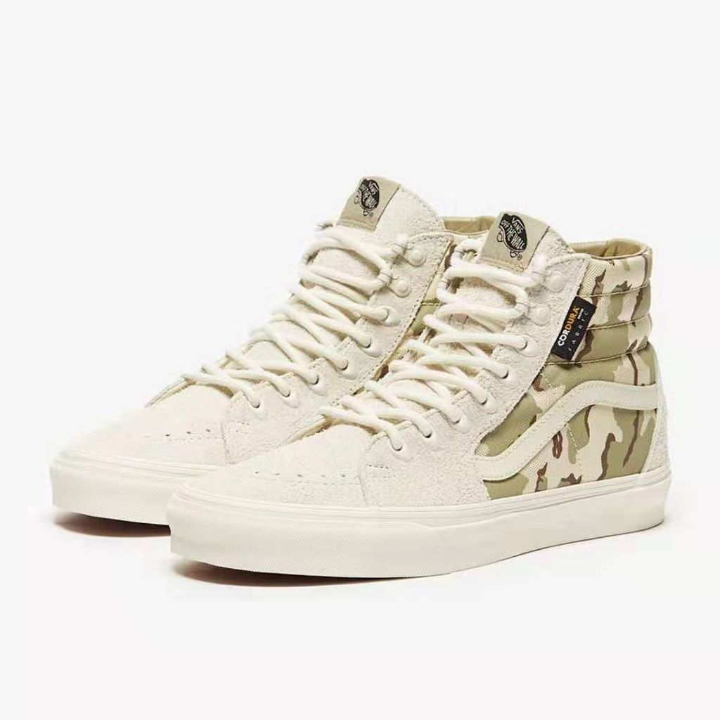 VANS New CORDURA SK8-HI White Camouflage High-top UNISEX Casual Shoes USD180 3.jpeg