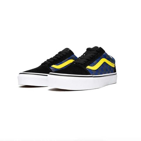Vans Old Skool Unisex Low Black and Yellow Checkerboard Casual Shoes USD165.jpeg