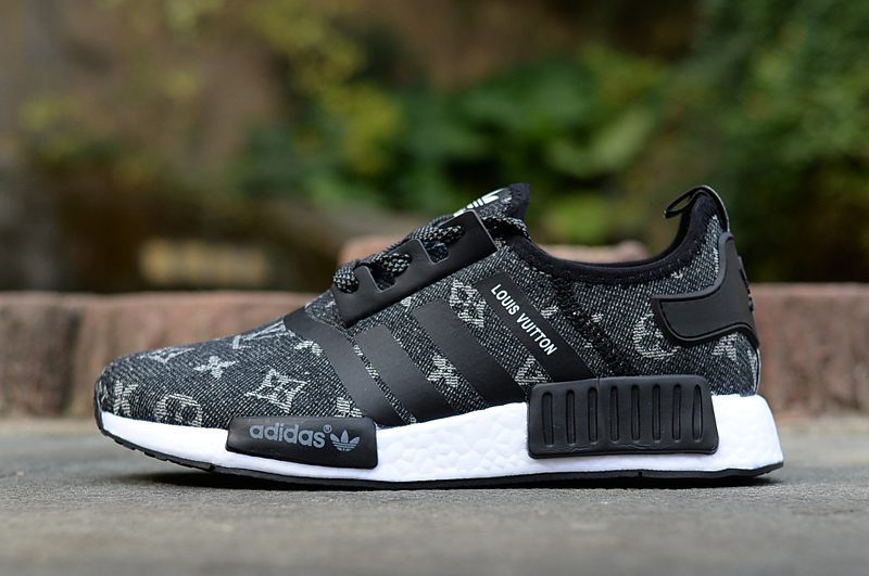 info for bff1d ca266 LV x Adidas NMD Black