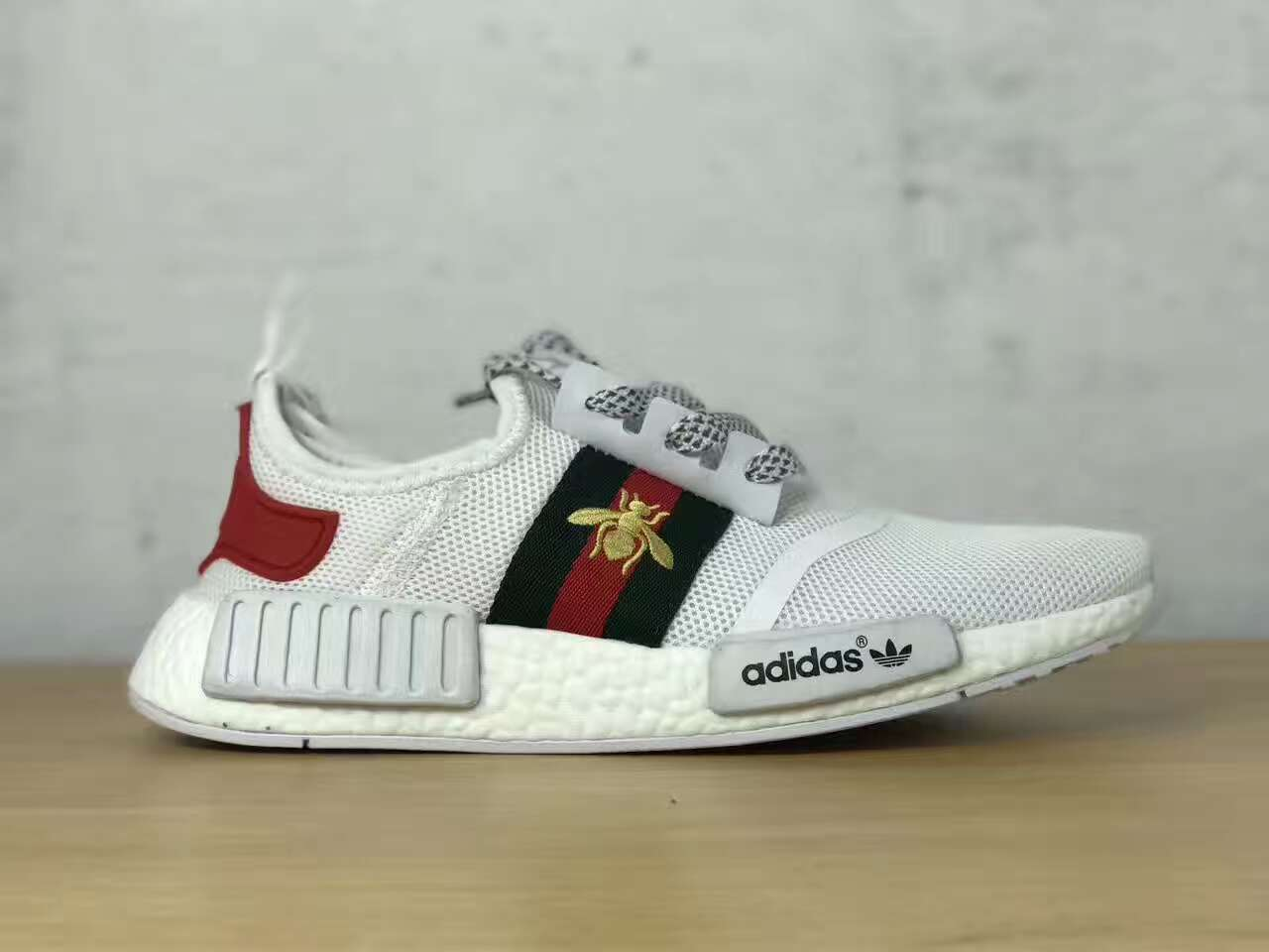Gucci x Adidas NMD White Bee