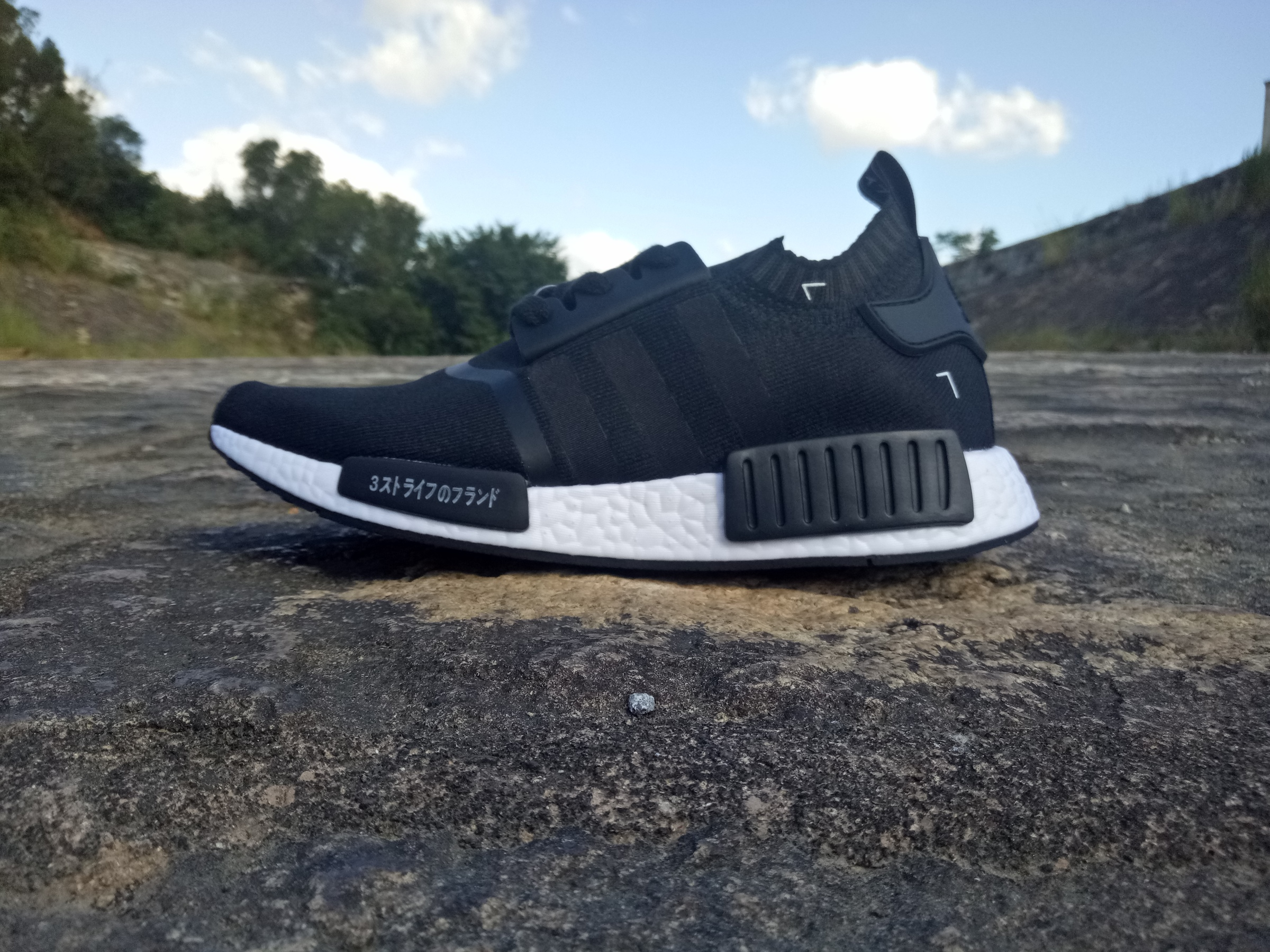 official photos 7311e 0ab3f Adidas NMD Japanese Limited Black