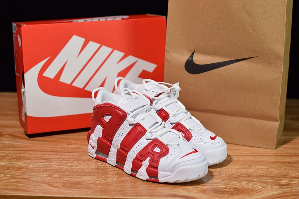 Nike Air More Uptempo White Red 350Y 4.jpeg
