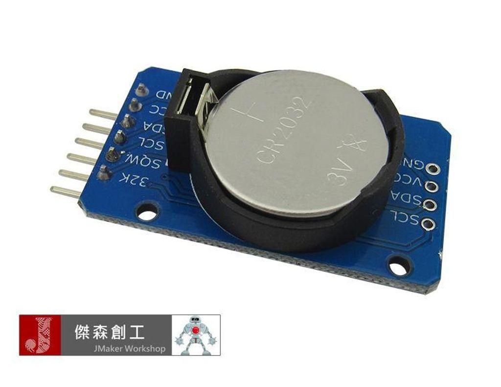 DS3231 高精度時鐘模組 時間模組 優於DS1302.jpg