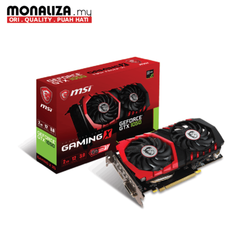 MSI GTX 1050 GAMING X 2GB GDDR5.png