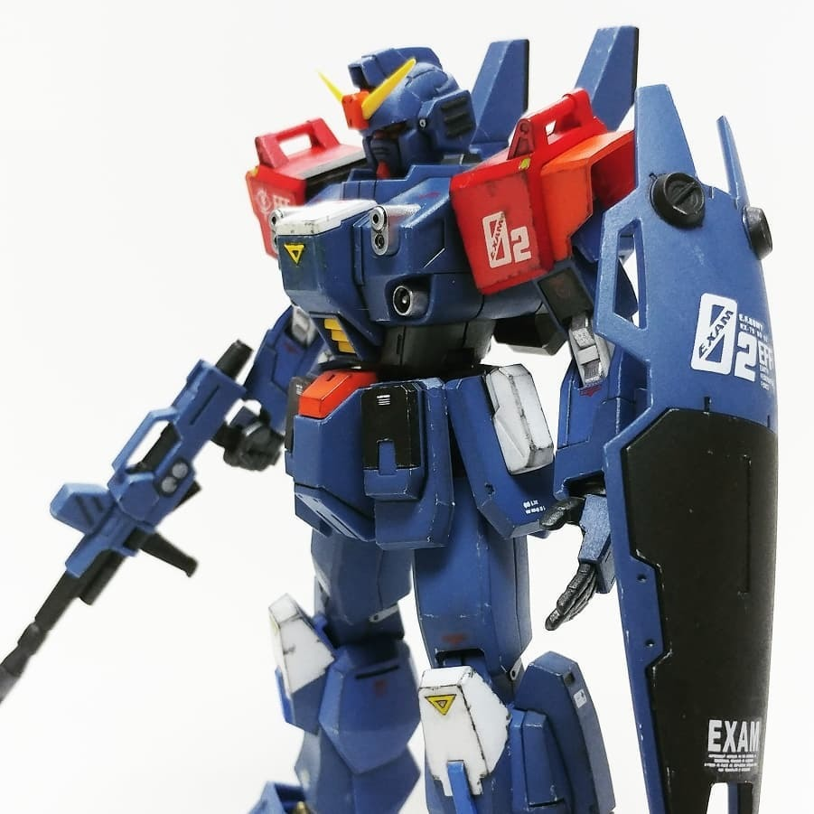 "BANDAI (HG) RX-79BD-2 BLUE DESTINY UNIT 2 ""EXAM"" E.F.S.F. FIRST MOBILE SUIT CUSTOM TYPE"