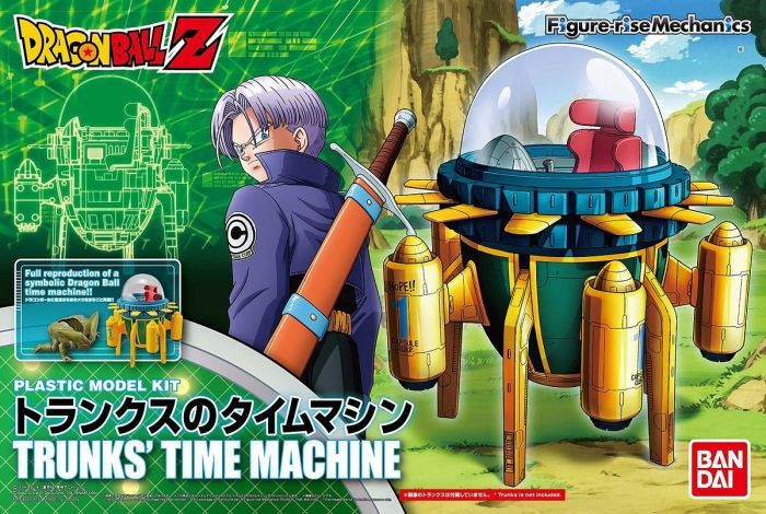 BANDAI DRAGONBALL Z TRUNKS TIME MACHINE