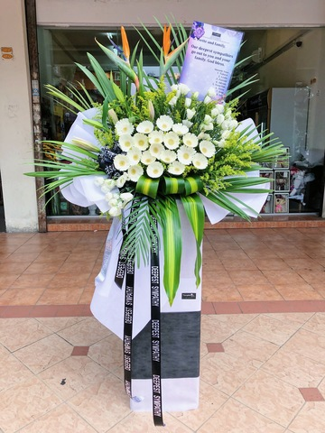 Meanes Condolence Flower Stand