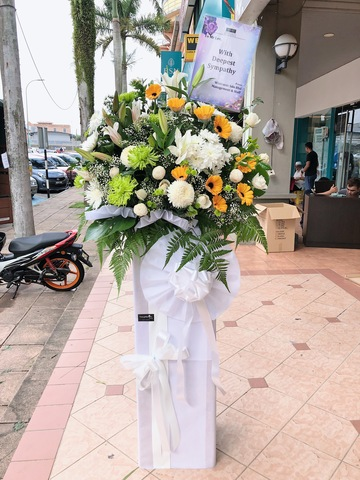 Melorious Condolence Flower Stand