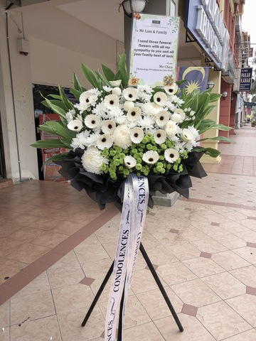 Freedom Condolence Flower Stand
