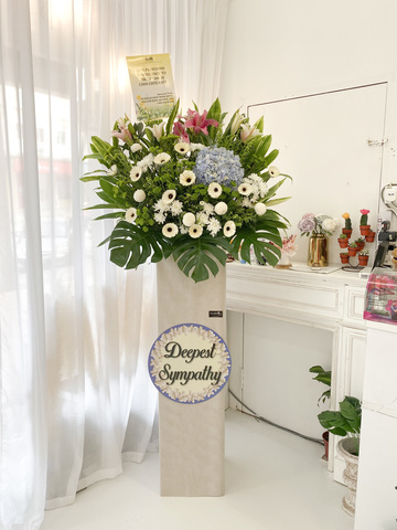 Mous Condolence Flower Stand