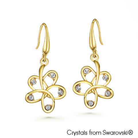 LUSH Dianthe 18K Gold Plated Earrings