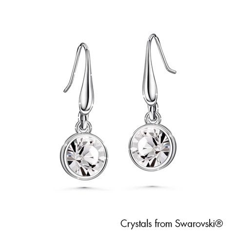 LUSH Solitaire Birthstone Hook Earring