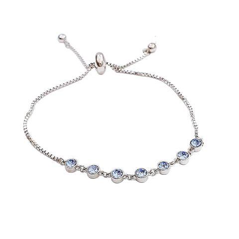 LUSH Solitaire Birthstone Bracelet