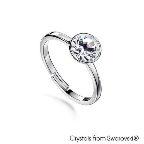 LUSH Solitaire Birthstone Ring