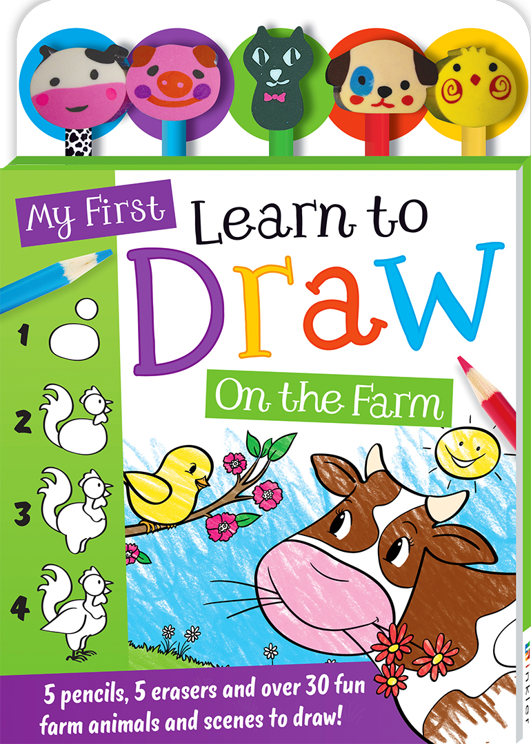 P04829_My_First_Learn_to_Draw_Farm_5_Pencil_Set_Visual