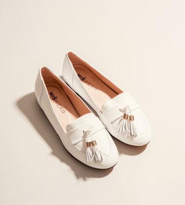 MISWEAR SHOES   西班牙直送台灣真皮女鞋   款式 - 芭蕾 <br> Flats