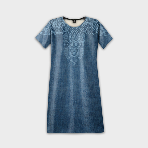 Pua Kumbu Denim Dress.jpg