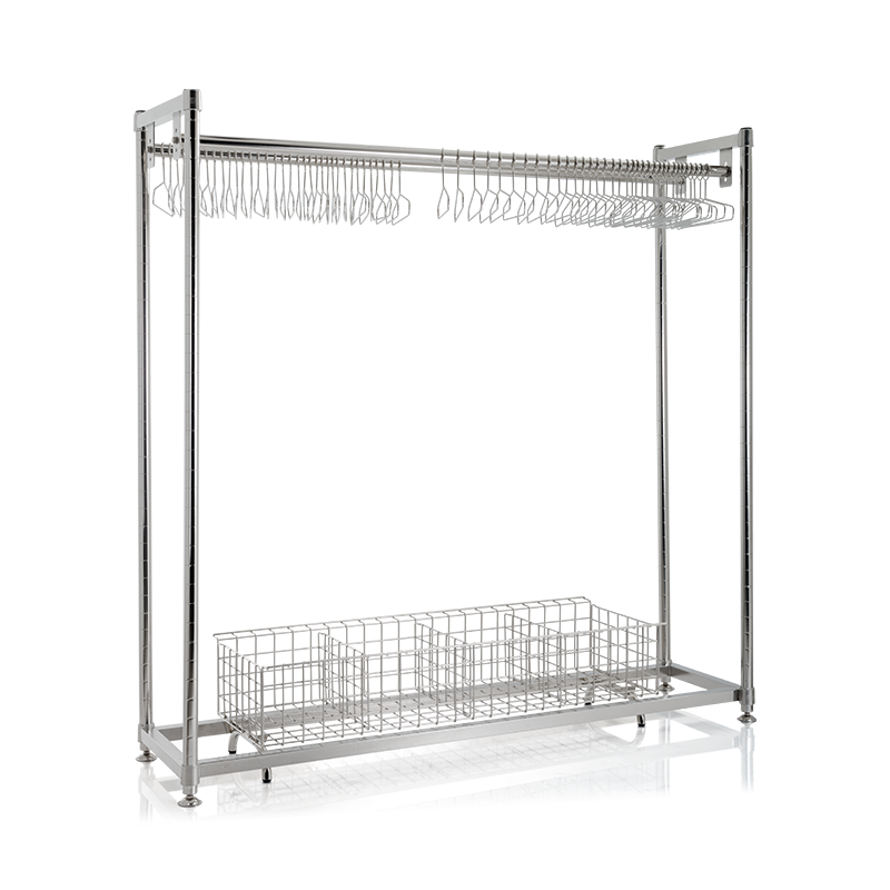 SMT SUS Hanger rack with basket.png