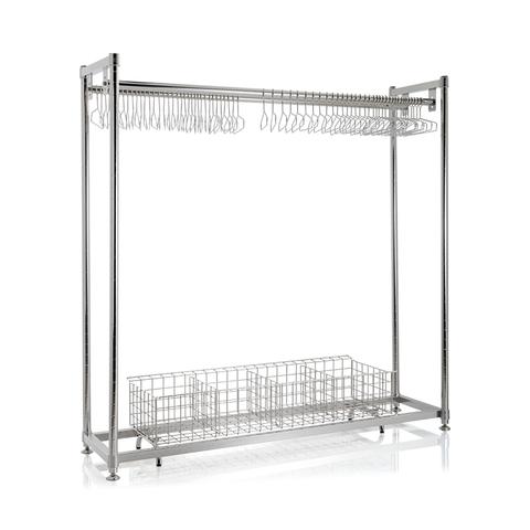 SMT SUS Hanger rack with basket.png