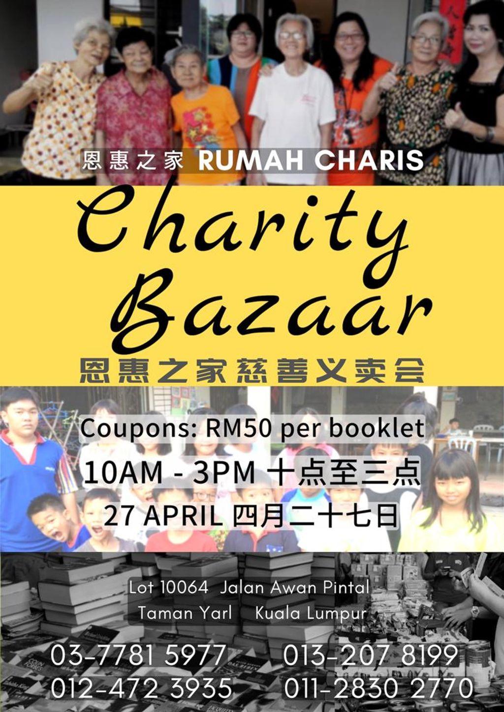 (Community Project) Social Marketing Sponsorship for Charity Bazaar by Rumah Charis
