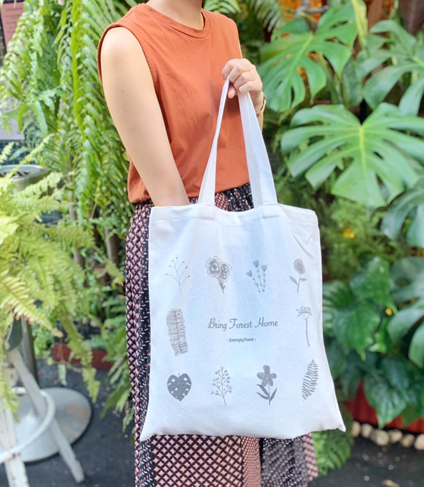 emmptyforest | To get our 2-way tote bag