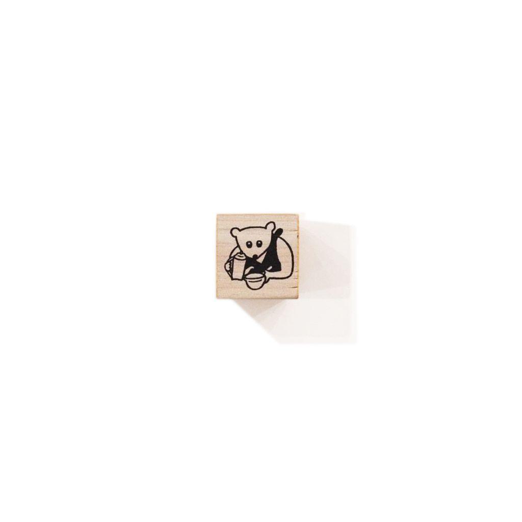 犬の喫茶店檜木印章系列 咖啡師Mr.熊.jpg