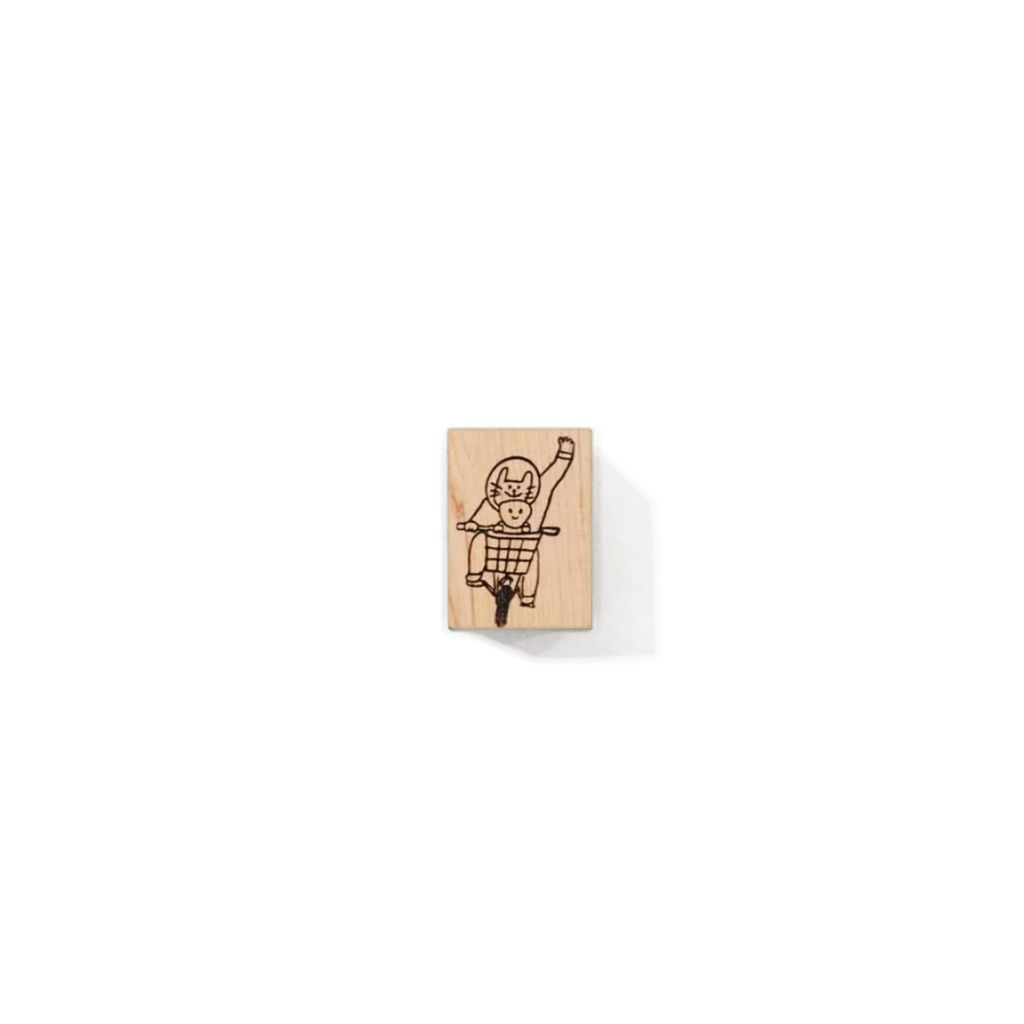 星際小犬檜木印章系列 太空貓騎單車(中).jpg