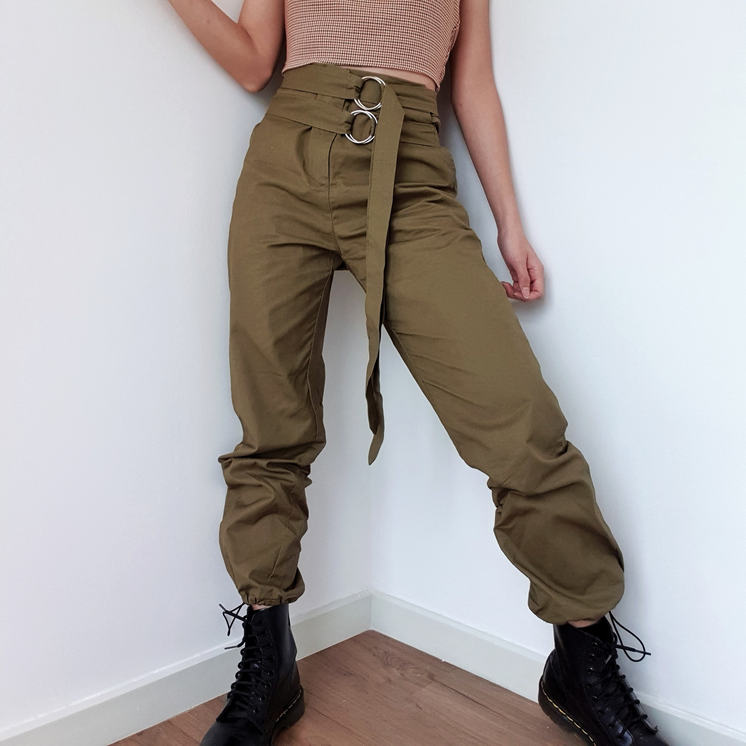 df84f4188f Kim Possible Belted Cargo Pants