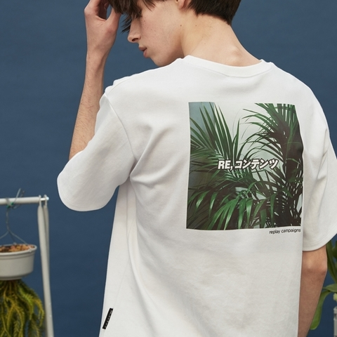 new_replay campaign tee_green_cafe24.jpg
