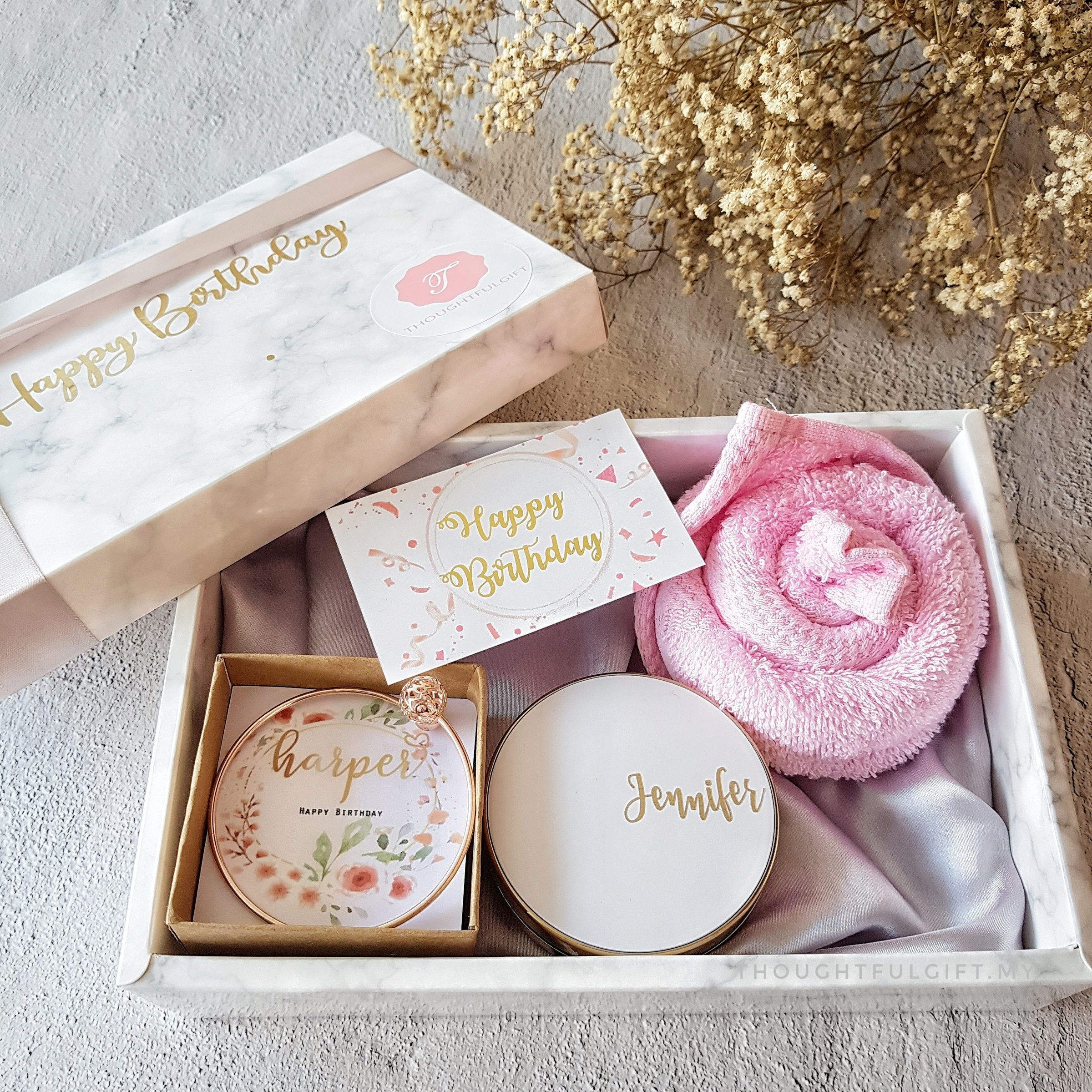 Thoughtfulgift | Our Collections - Personalized Accessories Gift Set for her