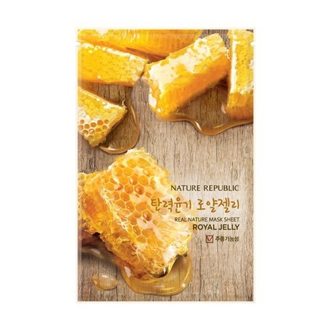 Nature Republic - REAL NATURE ROYAL JELLY MASK SHEET idr 20.000 - low.jpg