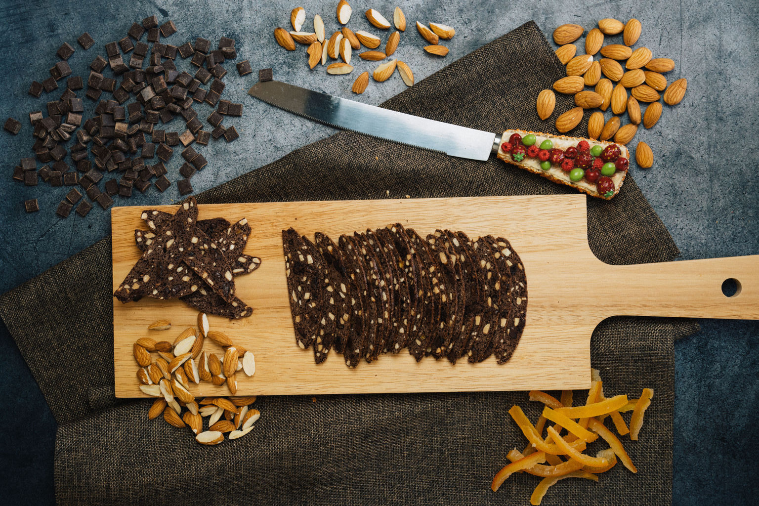 Biscotti Bakery   Featured Collection - Chocolate Almond Biscotti