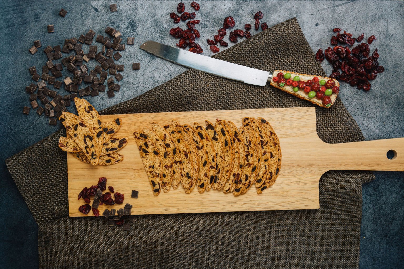 Biscotti Bakery | Featured Collection - Cranberry ChocoChips Biscotti