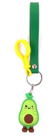 Silicon Wrist Strap with figurine - avocado.jpg