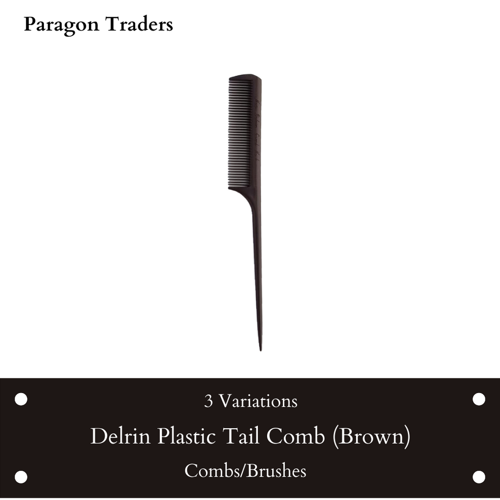 Delrin Plastic Tail Comb (Brown).png