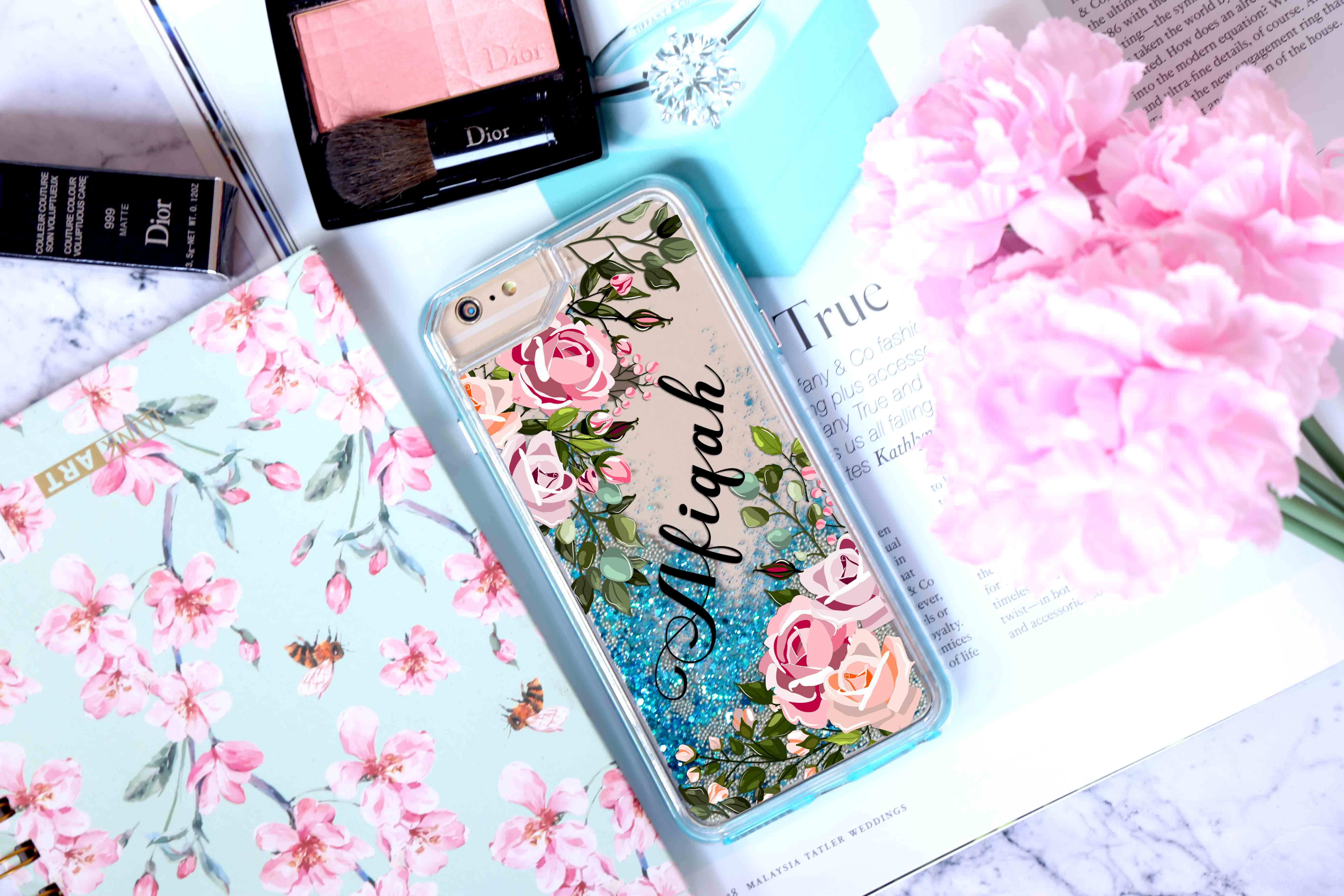 StreetCase: Luxury Tech Cases | FLORAL WITH NAME
