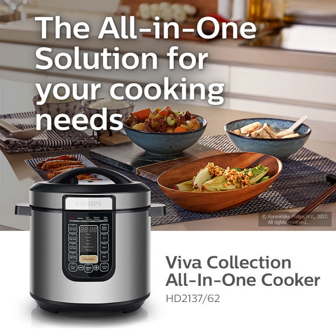 Philips Viva Collection All in One Cooker HD2137/62