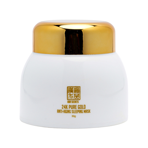 24K Pure Gold Anti-aging Sleeping Mask, 24K黃金抗老睡眠面膜.jpg