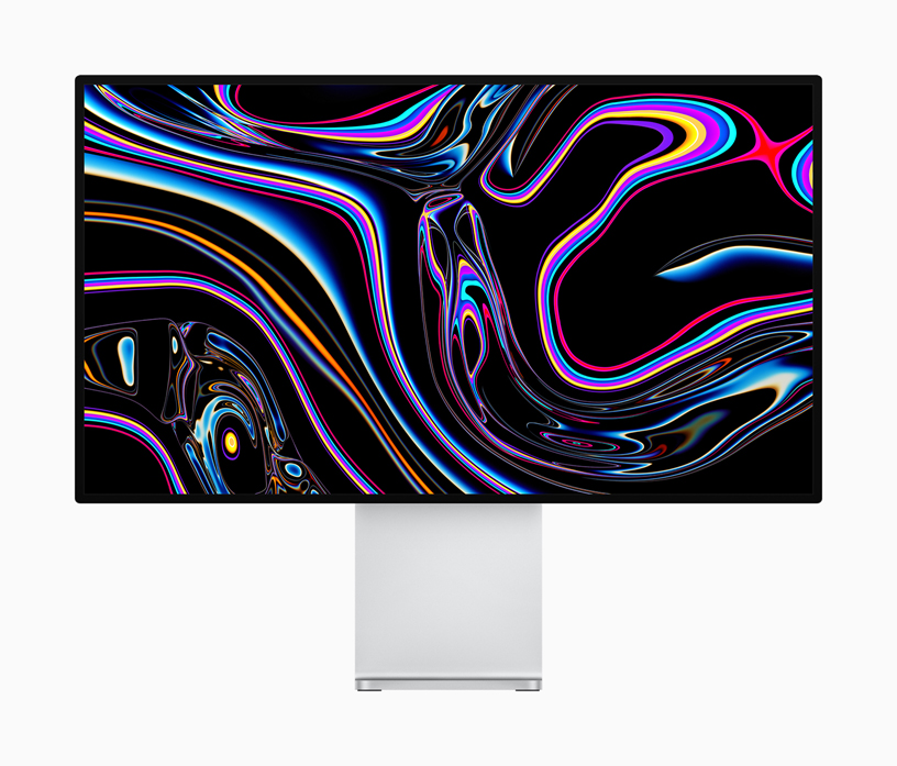 Pro Display XDR with Retina 6K resolution.