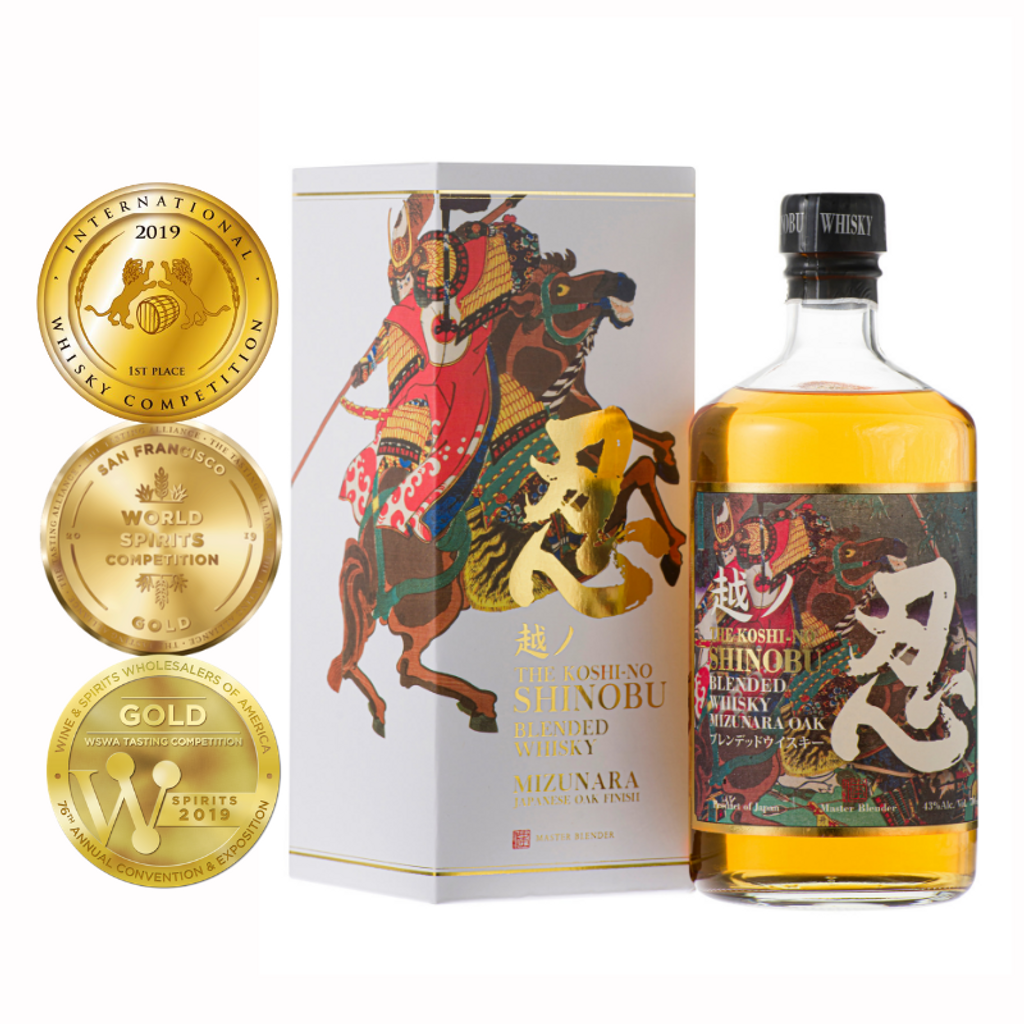 shinobu-blended-whisky-with-three-medals.png