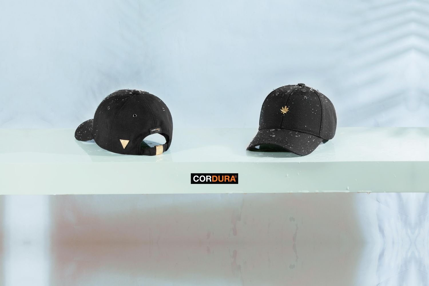 Hater Snapback - The most wanted hat | HATer Cordura Gold Cannabis Cap