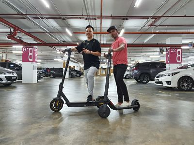 Malaysia's Best Electric Scooter | E bike and Electric Unicycle - Eric Tai. - Segway Ninebot ES2 & MAX