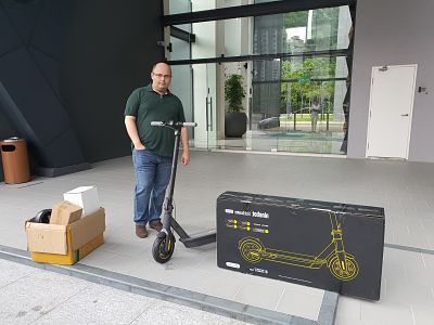 Malaysia's Best Electric Scooter | E bike and Electric Unicycle - Mohammad Mahboubian - Segway MAX